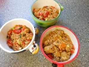 Simple Sausage Rice 9