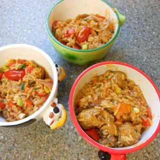 Simple Sausage Rice