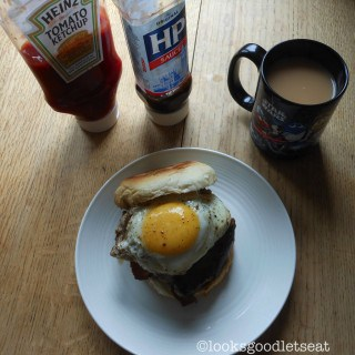 Ultimate English Breakfast Bap (Fathers Day)