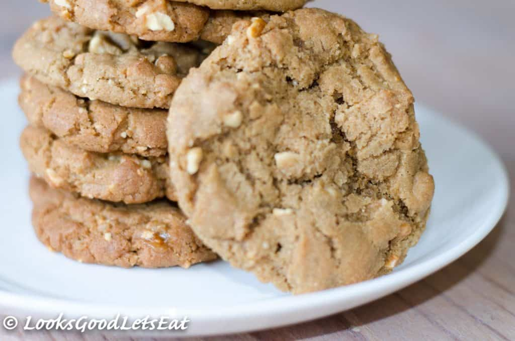 Peanut Butter Brittle Cookies